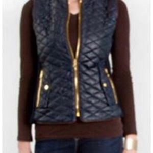 Fate Blue Quilted Vest